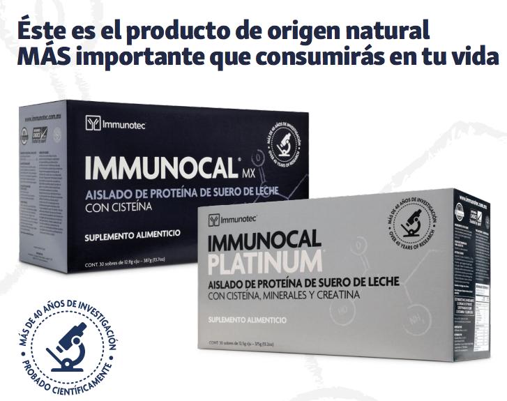 ¿Qué es Immunocal?